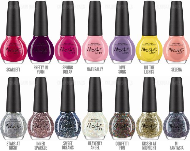 Selena Gomez collab collection. Image from chalkboardnails.com